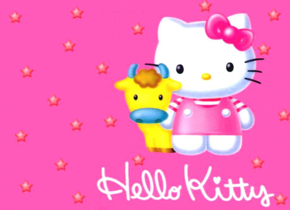 Hello Kitty 3D Wallpaper.