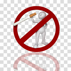 Tobacco smoking Poster, Smoking refused background material.