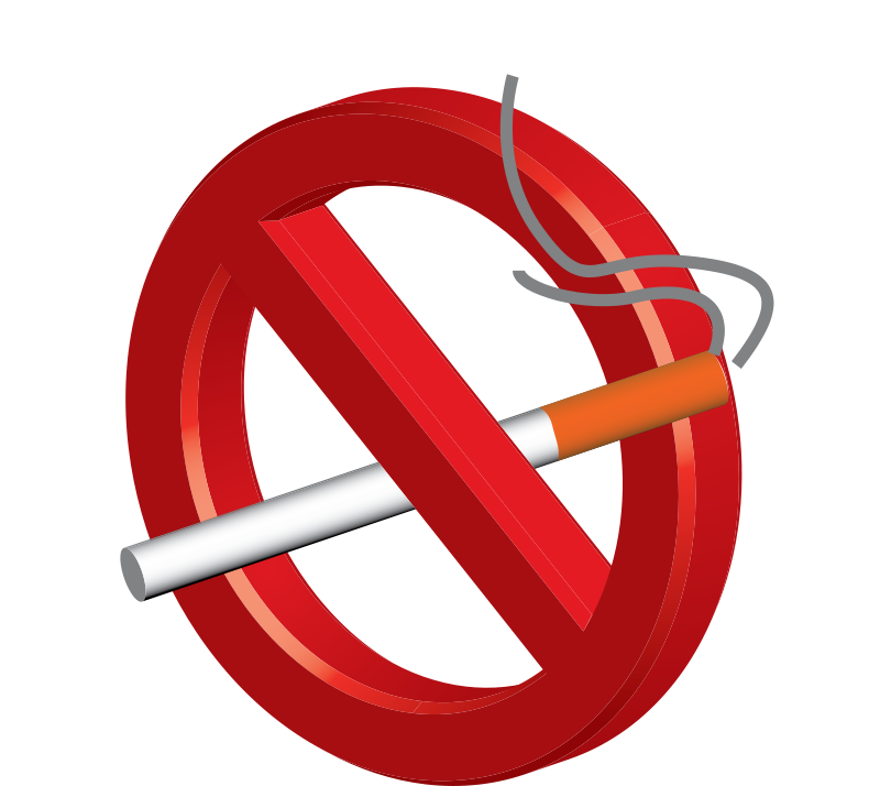 No Smoking Clipart.