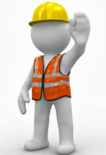 Safety Man Clipart.