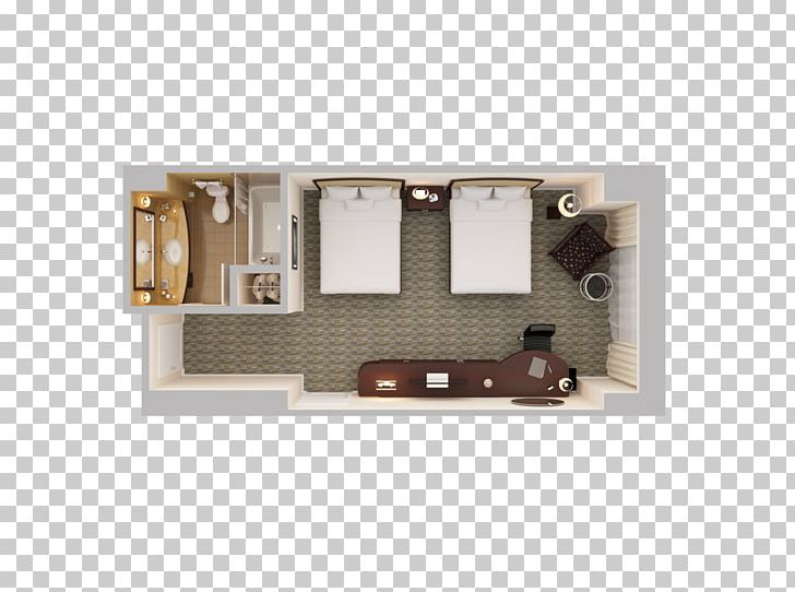 Hilton Orlando Bonnet Creek Room Hotel 3D Floor Plan Suite.