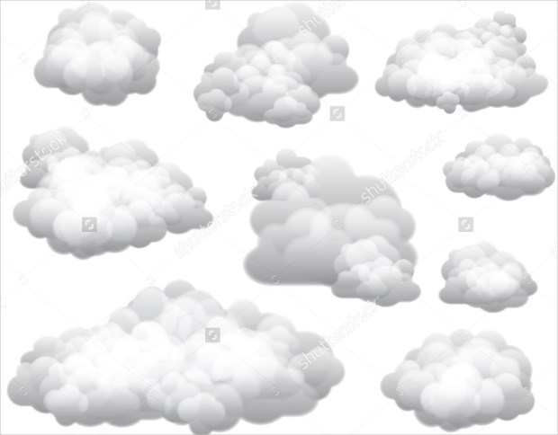 25+ Cloud Vectors.