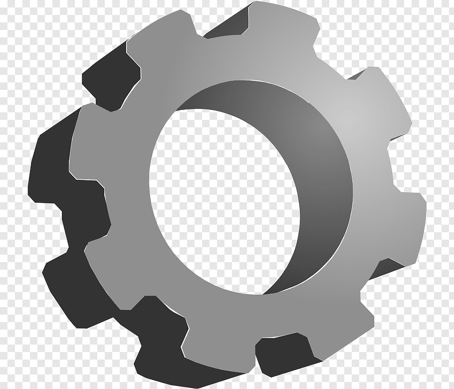 Gear Computer Icons 3D computer graphics, gear free png.