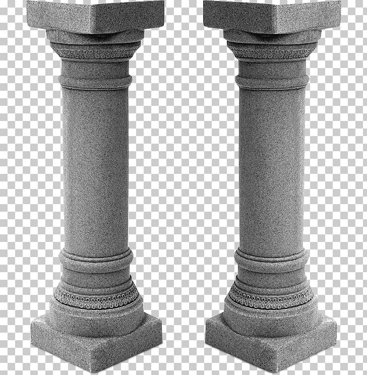 Column 3D computer graphics Interior Design Services, PILLAR.