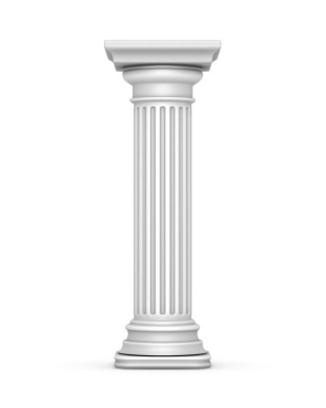 Ancient Greek Architecture Columns. greek doric column 3d.