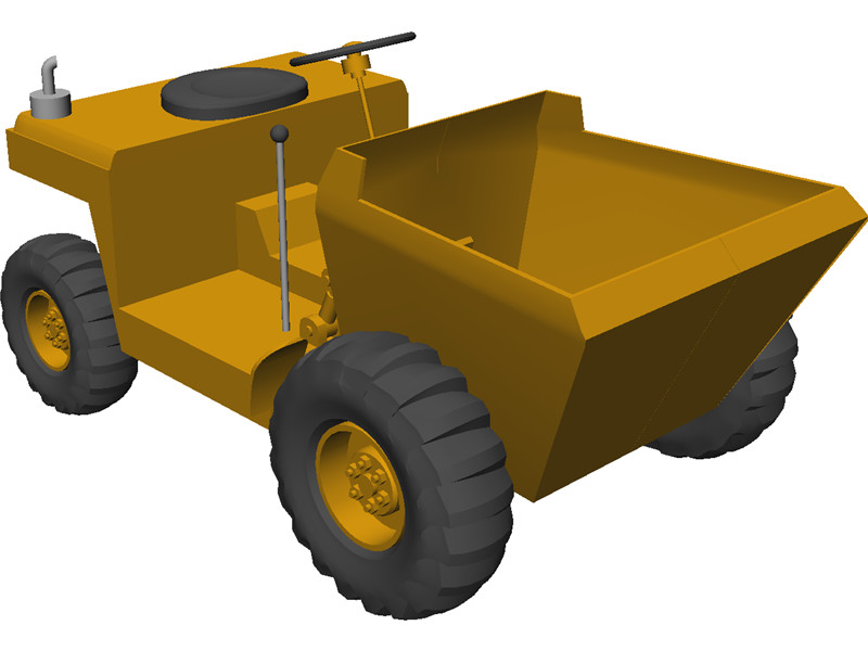 Construction Truck 3D Model Download.