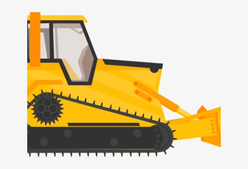Construction Clipart Bulldozer.