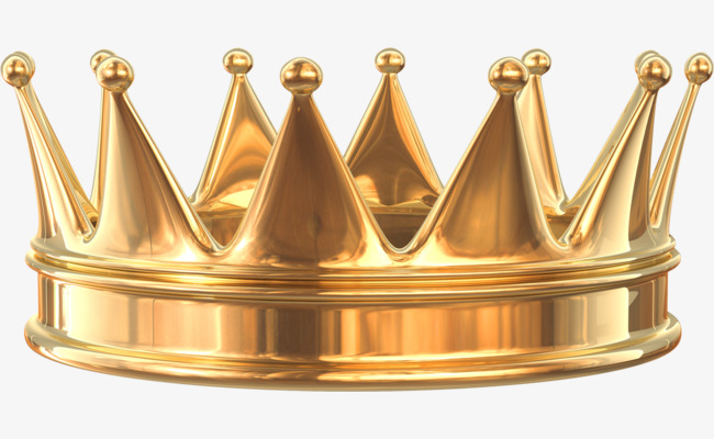 Gold Crown Clipart Png.