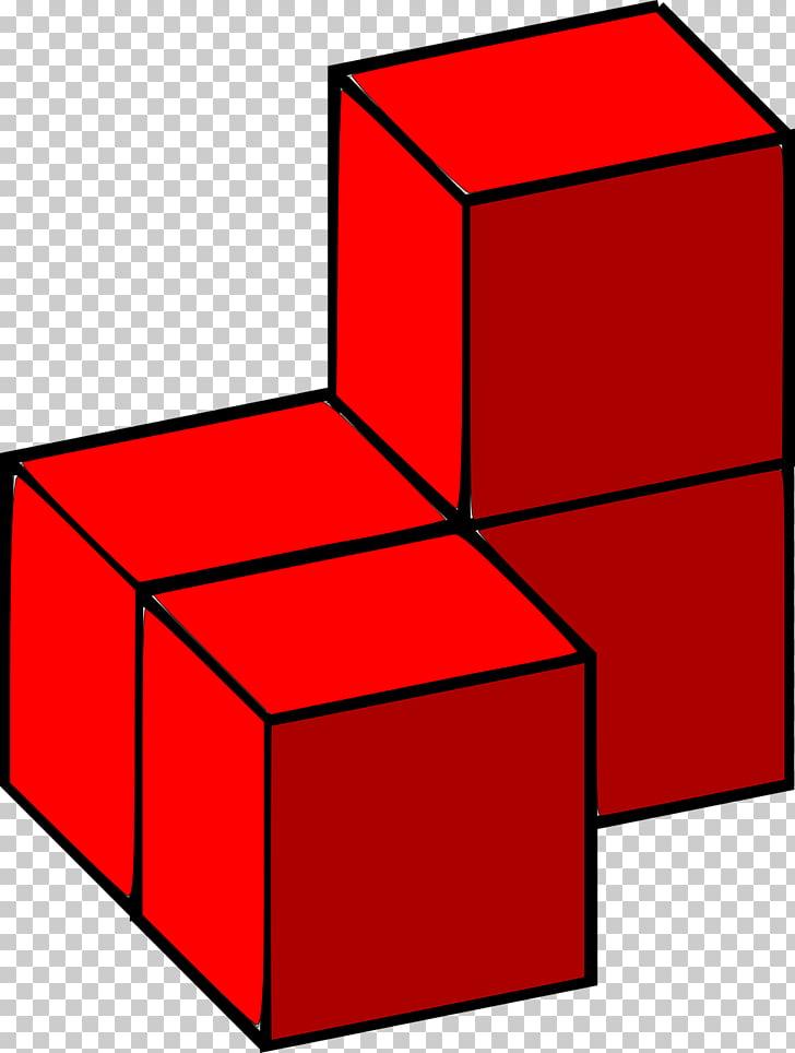 Tetris Toy block 3D computer graphics , cube PNG clipart.