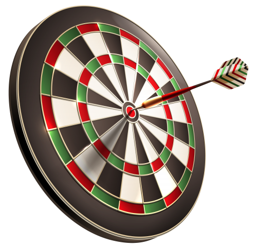 139 Darts free clipart.
