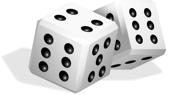 Dice Transparent PNG Pictures.