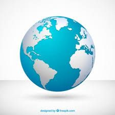 Image result for download hd images of 3D earth globe in red.