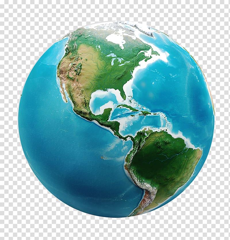 Globe World 3D computer graphics Visualization Map, earth.