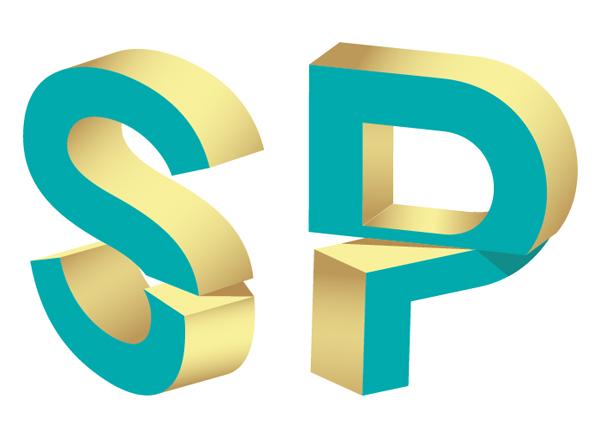 30 Minutes to Custom 3D Split Text Vector Effect!.