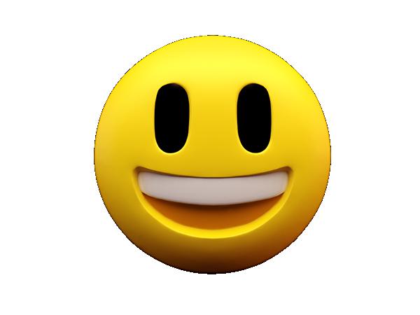 Smiley Emoticon Emoji Desktop Wallpaper.