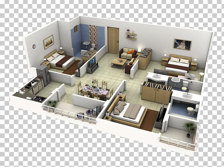 Interior Design Services 3D Floor Plan House PNG, Clipart.