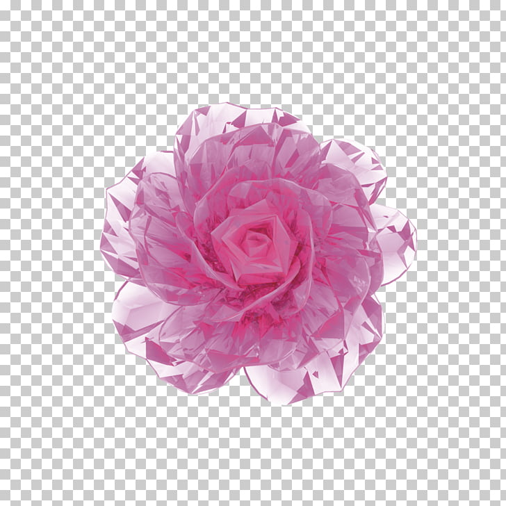 Face 3D computer graphics Cream Flower, 3D Flowers PNG.