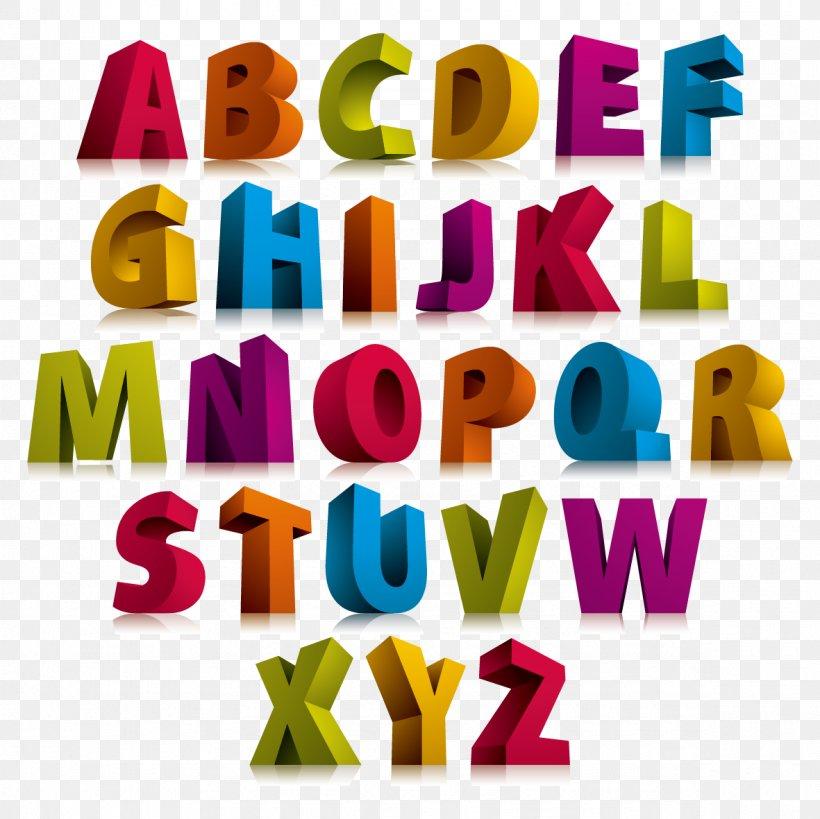 Alphabet Letter 3D Computer Graphics Font, PNG, 1181x1181px.