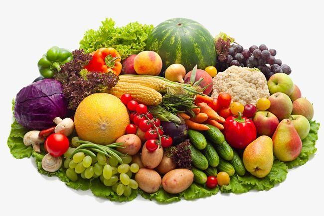 كرتون رسم الفاكهة فاكهة الفواكه الطازجة الخضروات, الصورة.