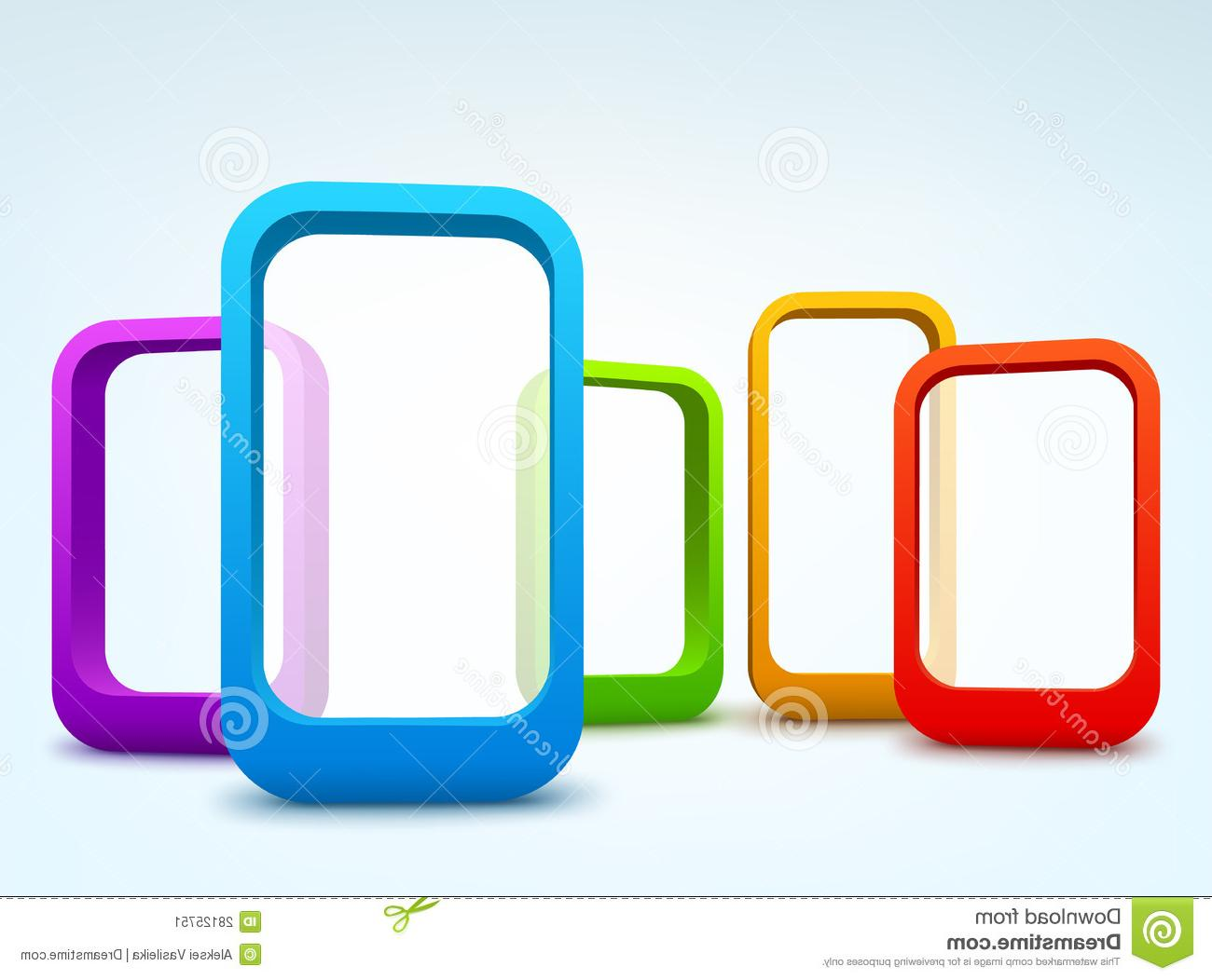 HD 3d Vector Frame File Free » Free Vector Art, Images.