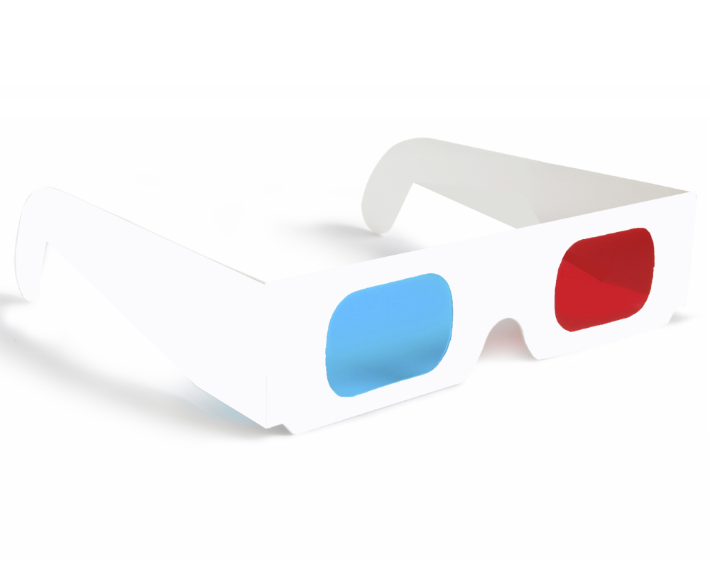 3D Glasses Cliparts.