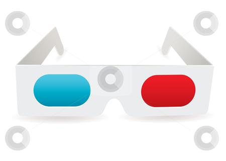 3D Glasses Clip Art.