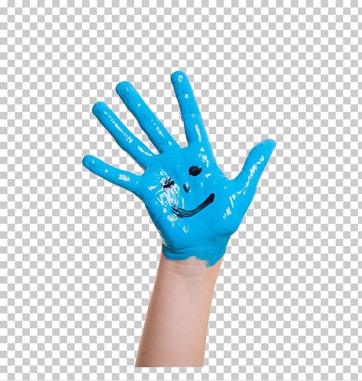 Paint Color Pigment, 3D Hand Smile PNG clipart.