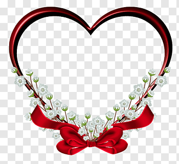 Heart red lace 3D digital illustration, Heart Love Android.
