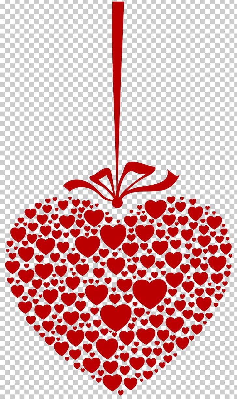 Hanging Hearts Desktop PNG, Clipart, Christmas Ornament.