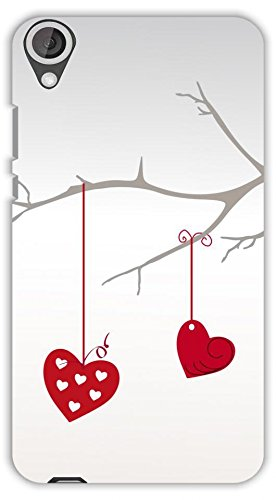 Crazy Beta Hanging Heart On Tree Printed Back Cover For.