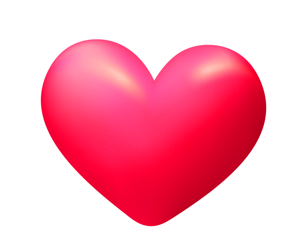 3d heart transparent png image high quality free png templates.
