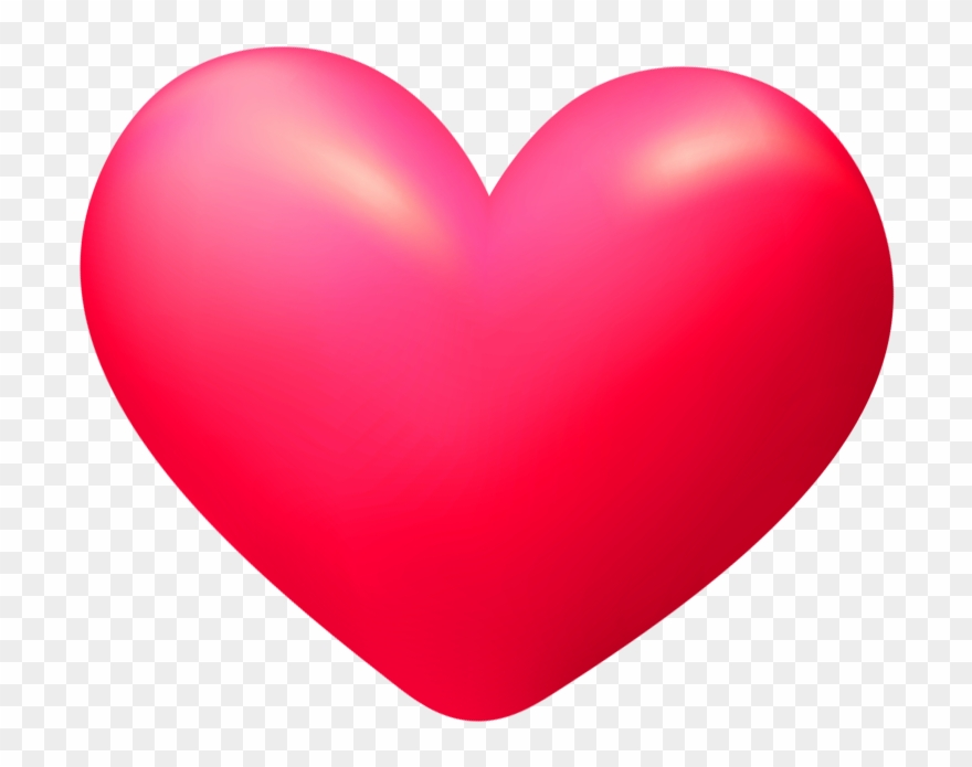 3d Heart Transparent.