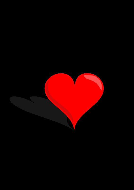 Free Clipart: 3D Heart.