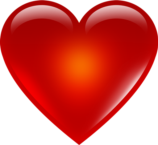 Download 3D Red Heart Transparent PNG.