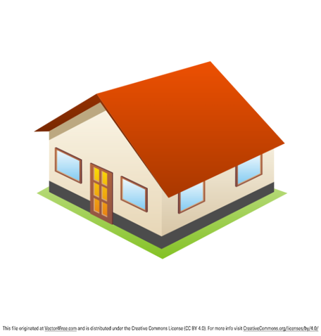 Free 3D House Icon Clipart and Vector Graphics.