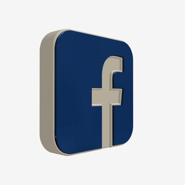 3d Facebook Icon, 3d, Facebook, Icon PNG Transparent Clipart.