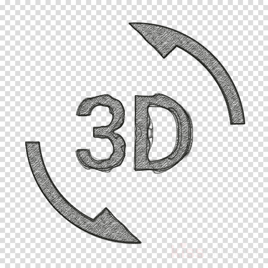 3d icon rotation icon clipart.