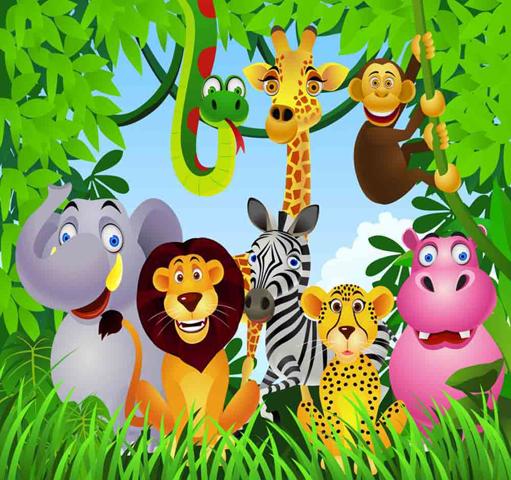 Free Jungle Animals, Download Free Clip Art, Free Clip Art.