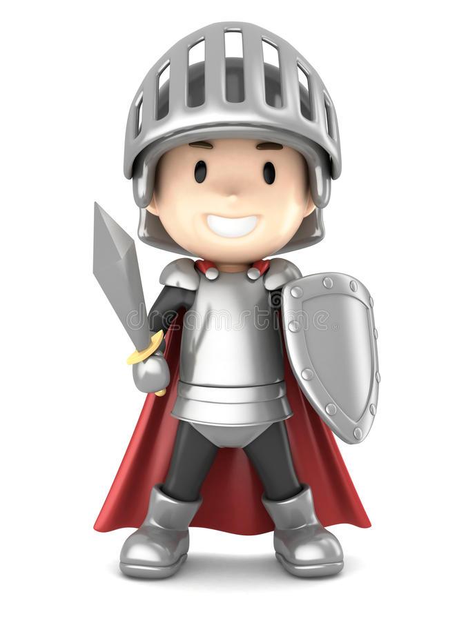 Knight Boy Stock Illustrations.