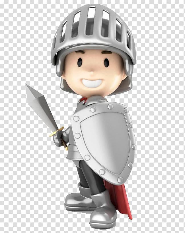 Knight illustration, Battery charger illustration Toy , Safe.