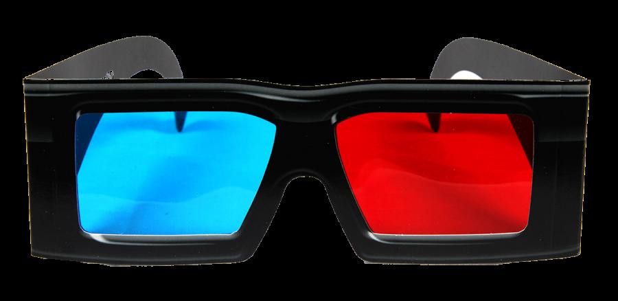 3D Glasses PNG Image.