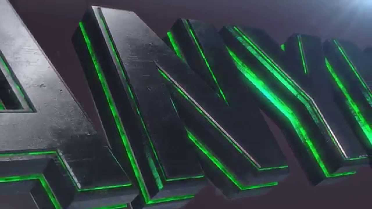 Create Your Own 3D Text Logo Animation.