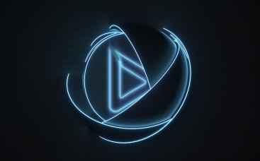 3D Spheres Logo Animation.