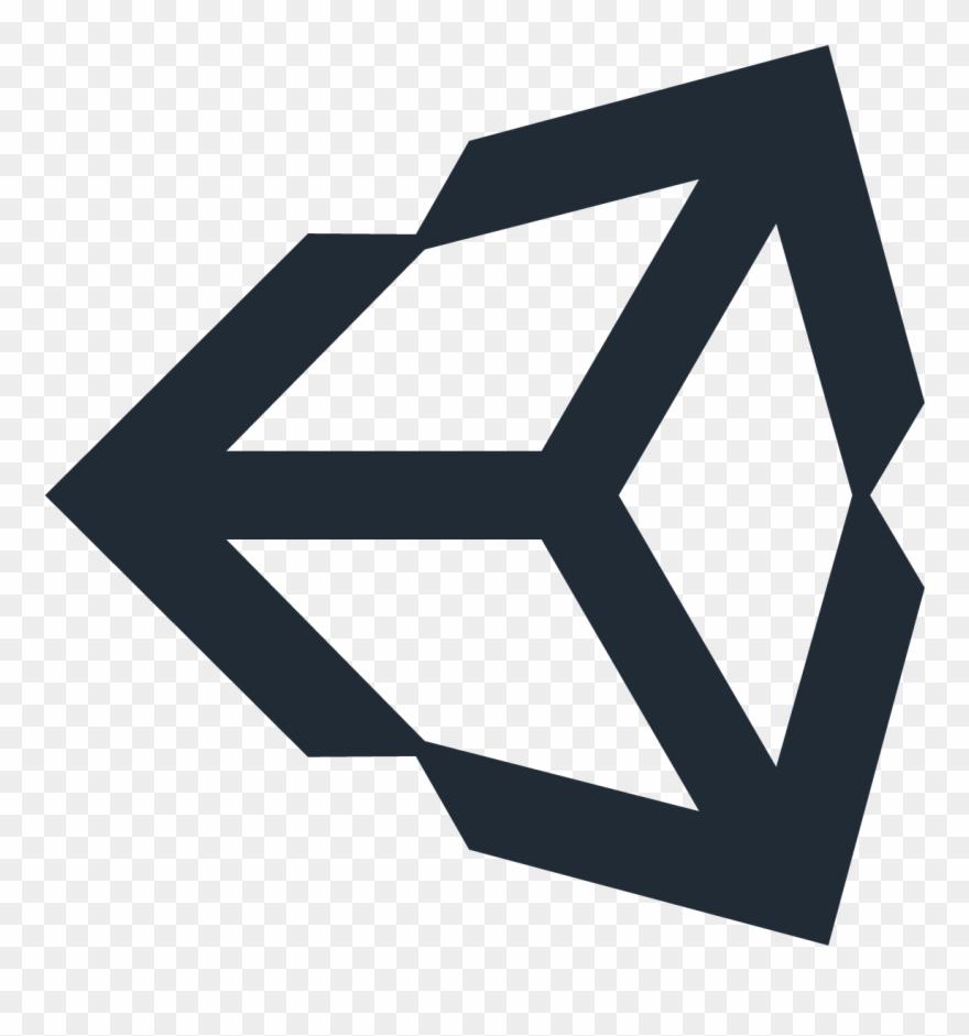 Unity 3d Vector Icon Logo Free Vector Silhouette Graphics.