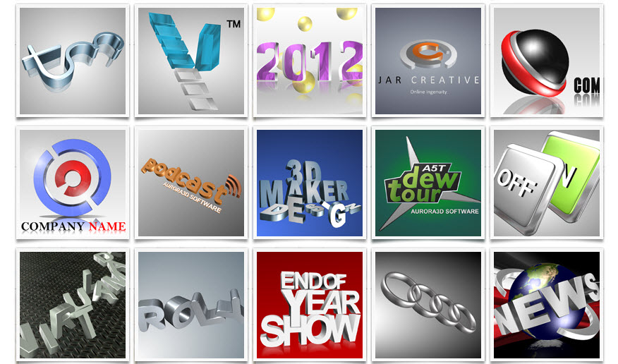i will give you 3D Logo Creator for $5.