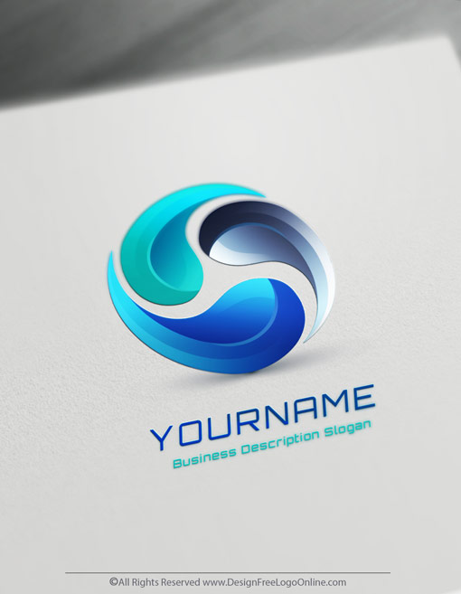 Online Free 3D Logo Maker.