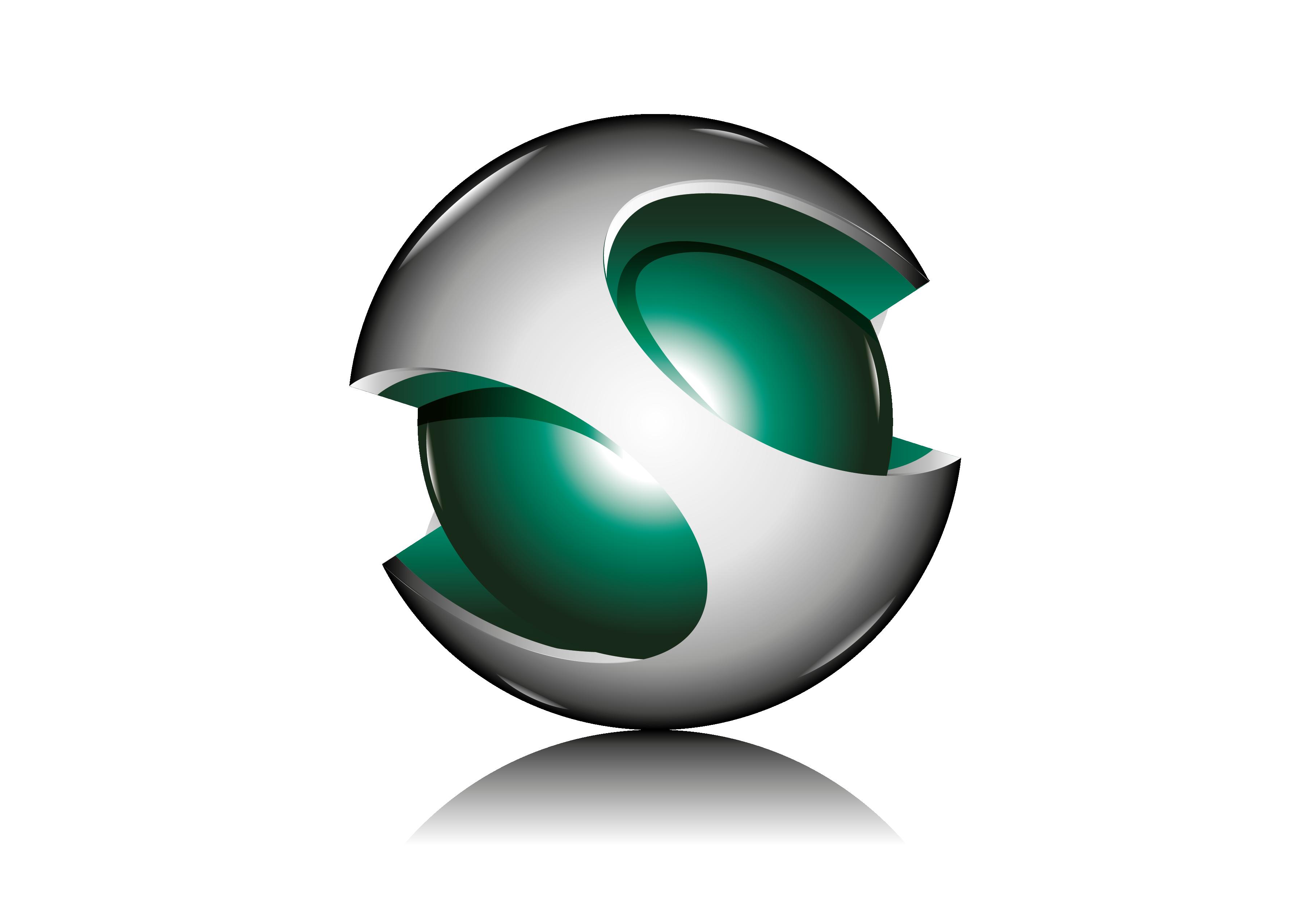 3D Logo.