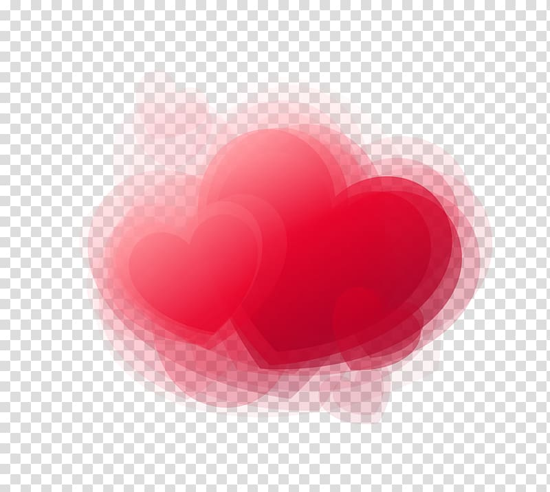 Heart Love Valentines Day , Hearts 3D Dream transparent.