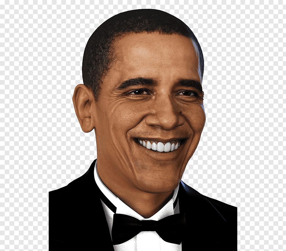 Barack Obama 3D selfie Portrait 3D computer graphics, barack.