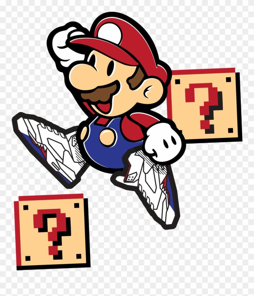 Paper Mario 3d Model Clipart (#1416303).
